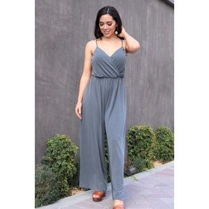43c8806ac0 The Justine Jumpsuit in Gray